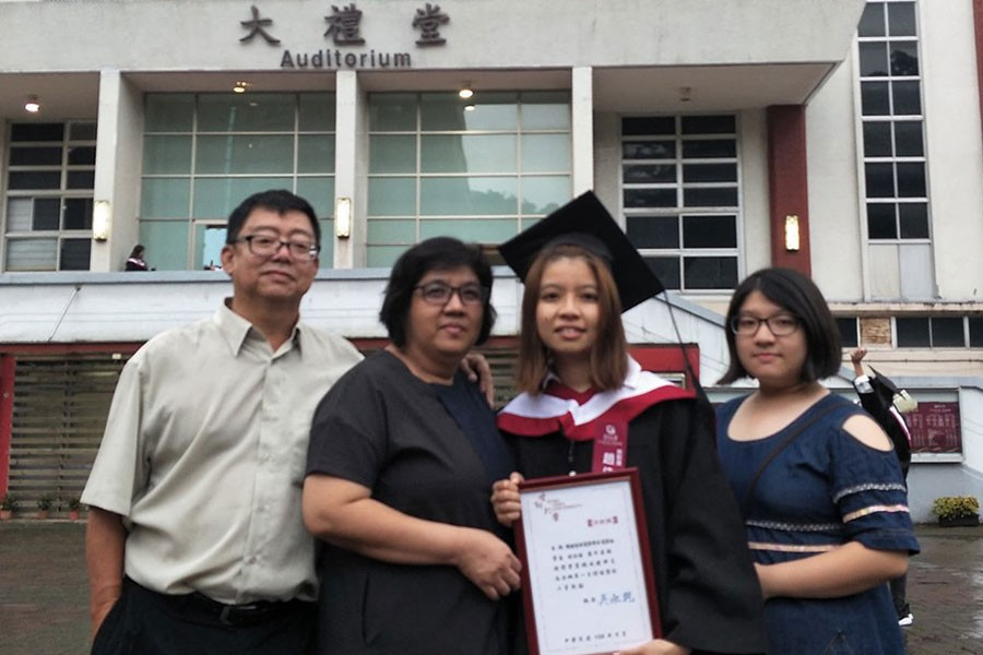 Alumni Zhao Jia Yi Won the 107th Shih Hsin Award of  Shih Hsin University